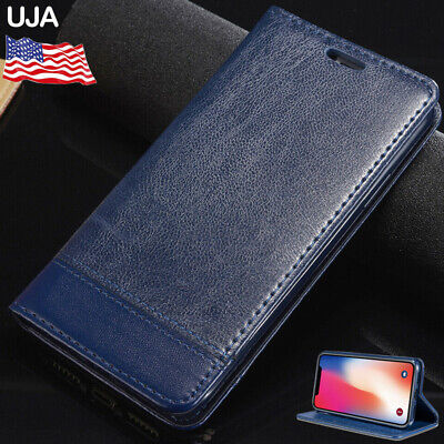 Luxury Magnetic Leather Flip Wallet Case Cards Stand Cover For iPhone 11 Pro Max