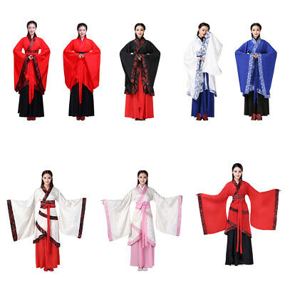 Chinese Ancient Costume Traditional Women Hanfu Han Tang Dynasty Cosplay Dress