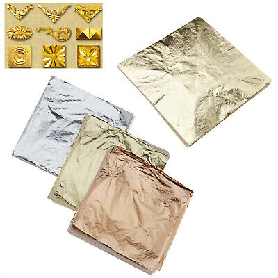 Paper Gilding Art Craft DIY For Arts 100 sheets Gold/300 sheets