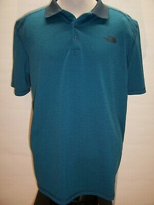 THE NORTH FACE Mens XL X-Large Stripe Polo shirt Combine ship Discount