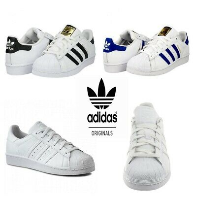 Adidas Boys Trainers Superstar Girls Trainer Sports School Casual Shoes