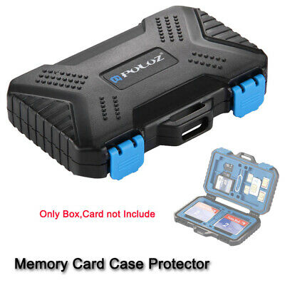 Portable Mini Size Memory Card Organizer Storage Holder (Card not Include)