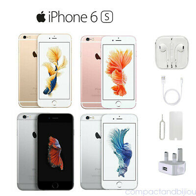 New Apple iPhone 6S 16/64GB Factory Unlocked Smartphone All Colors in Sealed Box