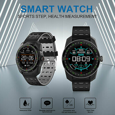 XGODY IP68 Smart Watch Heart Rate Fitness Tracker Stopwatch for iPhone Android