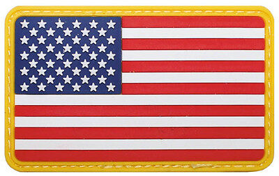 US Flag Fahne Army Uniform USA Flagge color Klettabzeichen 3D Abzeichen patch