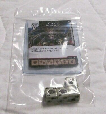 MOONDRAGON Set RARE Uncommon CUR Marvel Dice Masters Age of Ultron 4 DICE