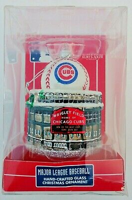 Chicago Cubs Wrigley Field Christmas Ornament