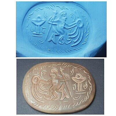Wonderfull very old roman agate intaglio seal