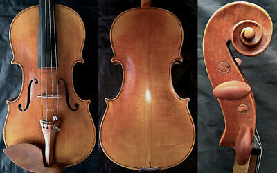 FINE 4/4 ANTIQUE BOHEMIAN VIOLIN Label Jakub Konrady 19th Fiddle  小提琴 ヴァイオリン скр
