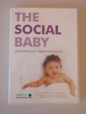 Dvd - The Social Baby - Understanding Babies Communication From Birth - Nspcc