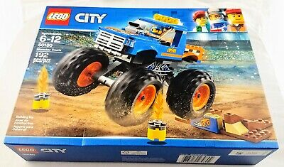 LEGO City 60180 Monster Truck Set New Sealed Free Priority Shipping