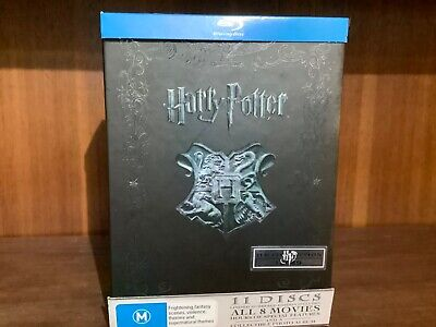 Harry Potter complete bluray box set 8 movies limited edition with photo album