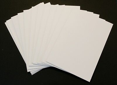 A6 Blank White Cards x12 and C6 Envelopes x12 Cardmaking - 24pk  210gsm 6 x 4""