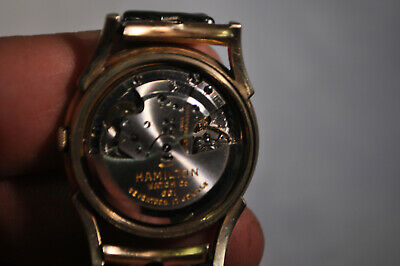 Hamilton Automatic Vintage Watch 10K Gold Filled 661 SOLD AS-IS FOR REPAIR
