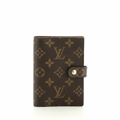 Louis Vuitton Ring Agenda Cover Monogram Canvas PM