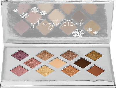 "ESSENCE LE ""crystal dreams""  eyeshadow palette (11 shades)  NEU&OVP"