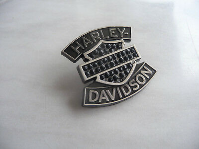 original Harley Davidson: B&S, BLACK EDITION PIN