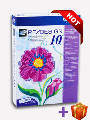 Brother PE Design 10 Embroidery Full Software & Free Gifts 2019 | INSTANT 30s