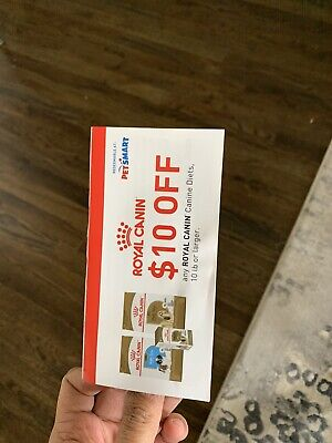 Royal Canin Coupons (total Value $50) 5 x $10 Coupons = $50 Value
