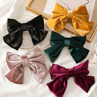 Big Hair Bow Hair Clips Hairpin Girl Hair Accessories for Women Bowknot Hairpins