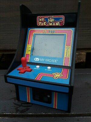 My Arcade Official Ms PACMAN Micro Player Retro Video Game Collectible