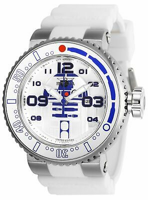 Invicta 27672 Star Wars Men's 52mm Stainless Steel Antique Silver Dial Watch