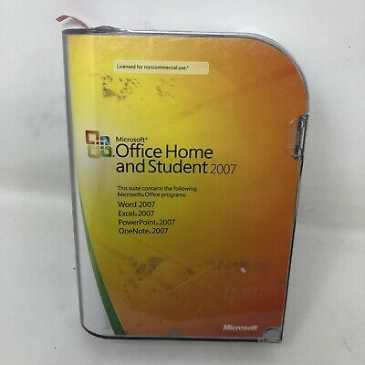Microsoft Office Home and Student 2007 Edition with Key  L3B