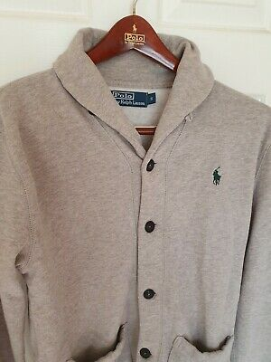 Mens POLO by RALPH LAUREN cardigan/jumper/sweater Size small/medium RRP £149