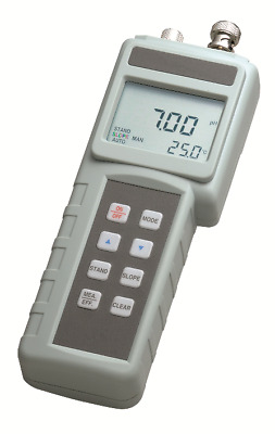 New! pH meter with pH electrode