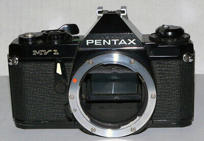Asahi Pentax MV-1 MV1 35mm Film PK Lens Mount 35mm Film SLR Camera (box k)