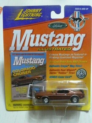 Ford Mustang Coupe 1972 Johnny Lightning 1:64