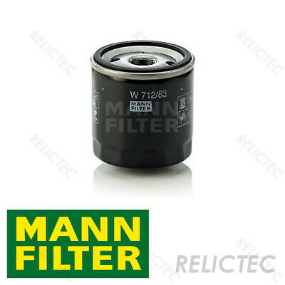 Toyota Corolla E12U 1.6 VVT-i Genuine MANN Spin On Engine Oil Filter Service