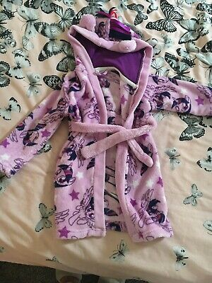 Girls Purple My Little Pony Dressing Gown Age 1-2 Years