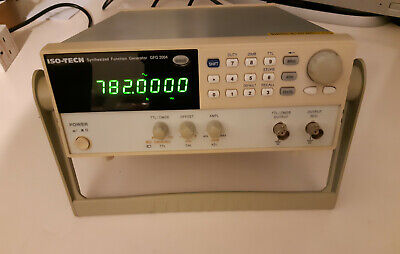 ISO-TECH SYNTHESIZED FUNCTION GENERATOR GFG 2004 Good Clean Condition