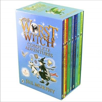 NEW & SEALED - Jill Murphy The Worst Witch Collection 8 Books Set