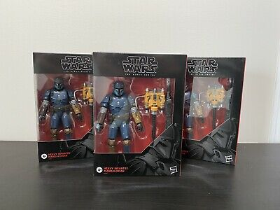 STAR WARS The Black Series HEAVY INFANTRY MANDALORIAN Action Figure New In Box