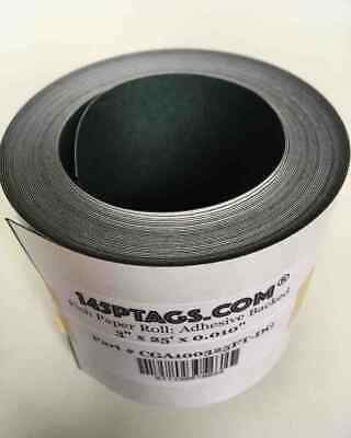 "145PTAGS Fish Paper Roll Adhesive Backed 3"" x 25' x 0.010"". Dark Grey"