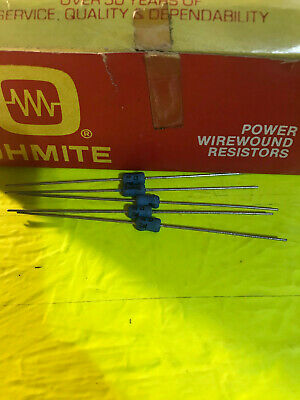 Multiple values instock OHMITE 40F 10W Wirewound Resistors 5 PIECE