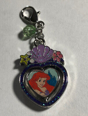 Disney Parks Charmed In The Park- Ariel  And Ursula Spinner Charm