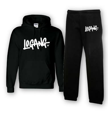 kids logan jake paul HOODY &  JOGGERS team 10 inspired LOGANG YOUTUBER TRACKSUIT