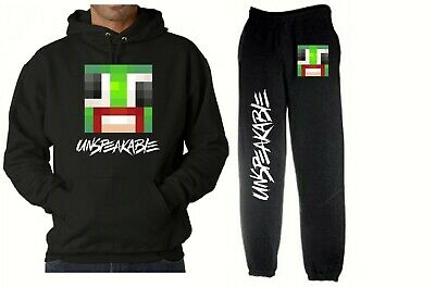 kids UNSPEAKABLE HOODY and JOGGERS SET hoodie YOUTUBE youtuber tracksuit VLOGGER
