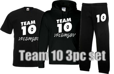 kids TEAM 10 HOODY JOGGERS AND TSHIRT set, LOGANG inspired JAKE LOGAN PAUL