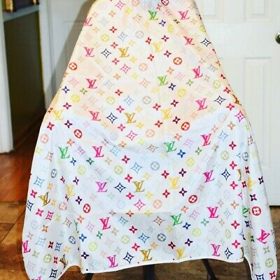 "Barber hair cutting and styling cape 55""X60"""
