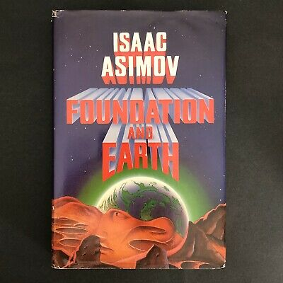 Foundation And Earth Isaac Asimov 1986 Hardcover Dust Jacket