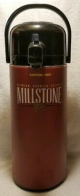 Rare 2.5 Liter Millstone Coffee Pump Coffee Dispenser