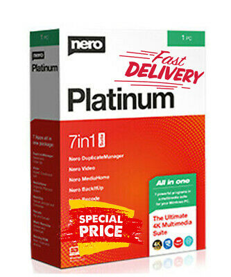 Nero Platinum 2020 Suite | Lifetime License | Official Version  ✅ INSTANT  ✅