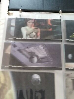 Star Wars A New Hope 3d Trading Cards complete set