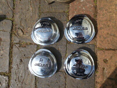 Jaguar E-Type/Xke S2 Or S3 Set Of Continental Spinners C28684/5  - Good Used