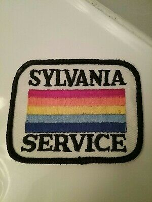 "Vintage Sylvania Service Patch 3.5"" by 2.5"""