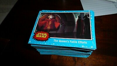 2019 Star Wars Journey To The Rise Of Skywalker  Base cards and inserts